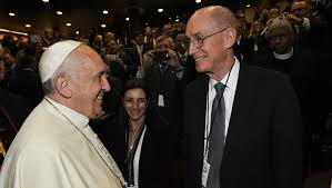 pope francis and eyring